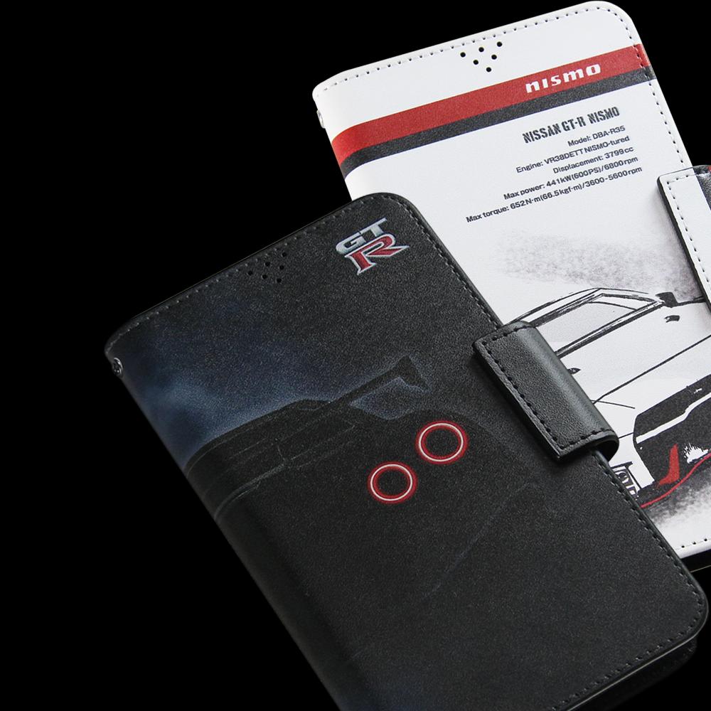 日産(NISSAN)NISMO 手帳型汎用マルチケース