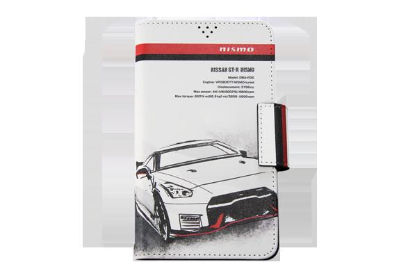 日産GT-R NISMO 手帳型汎用マルチケースB