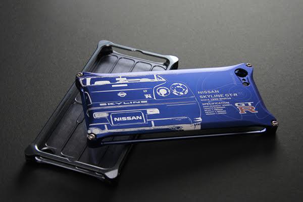 日産(NISSAN)GT-R ジュラルミンiPhoneケース