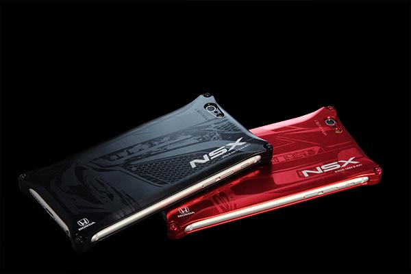 ホンダ(HONDA)NSX ジュラルミンiPhoneケース