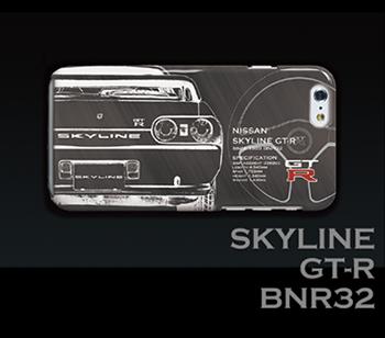 SKYLINE GT-R BNR32 iPhoneケース