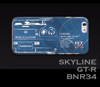 NISSAN GT-R R34 iPhoneケース